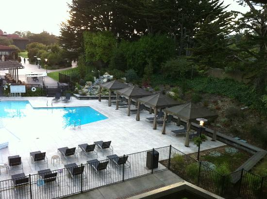 Free standing hvac unit in the room picture of hyatt for Pool show monterey