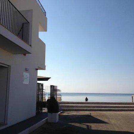Hotel La Spiaggia : hotel sulla spiaggia