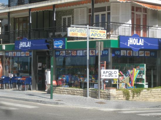 Hola-Ola: primera linea de mar