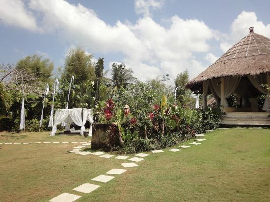 La Villa Mathis: jardin