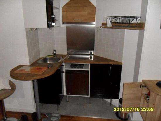 Residence SALVY: Kitchen
