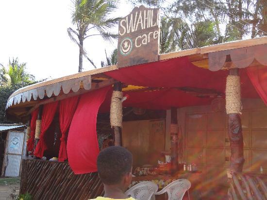 SWAHILI cafe vi aspetta a Timboni !!!