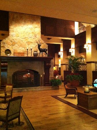 The Houstonian: Lounge area