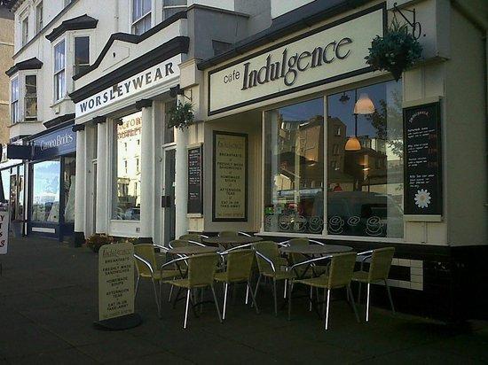 Indulgence Cafe: Cafe Indulgence, Llandudno