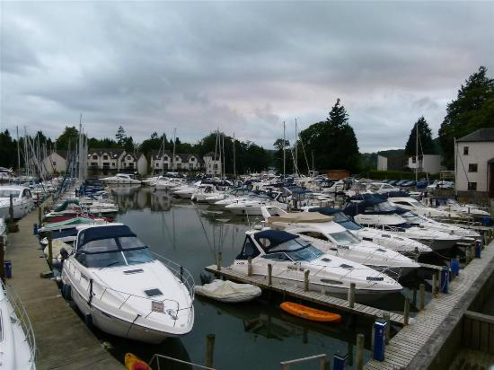 Windermere Marina Village: View from balcony of apartment 36