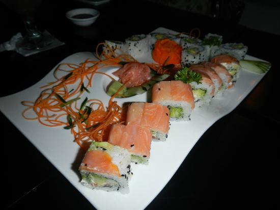 Kappa Sushi Fortuna: variety of sushi's
