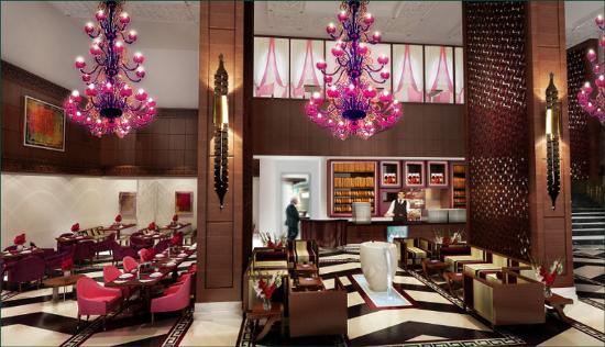 Merwebhotel Al Sadd Doha: Restaurant