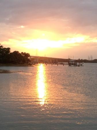 Sunset Grille: view next to Sunset Grill