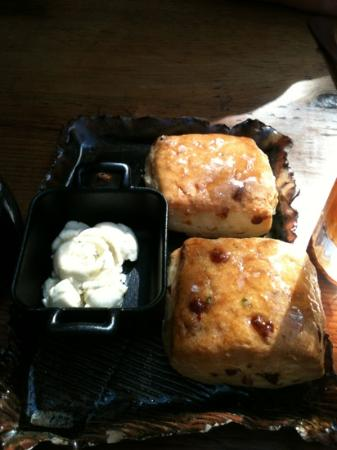 Marc Forgione: Savory biscuits, provided by chef. delicious!