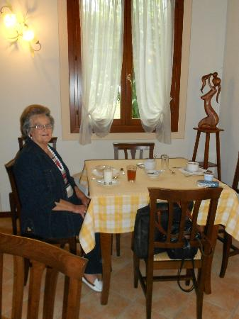 Agriturismo Ca' Danieli: Pleasant breakfast area