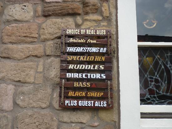 The Olde Ship Inn: On offer...