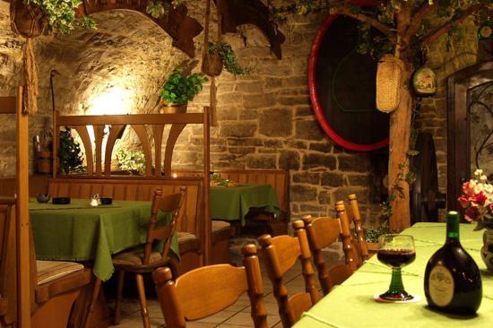 Akzent Hotel Franziskaner: Restaurant View