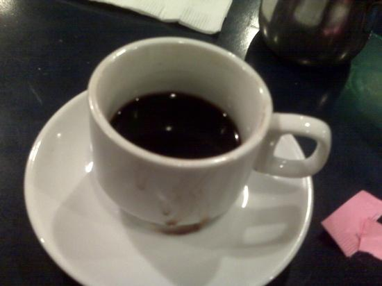 Aladdin Cafe: Turkish Coffee at Aladdin's