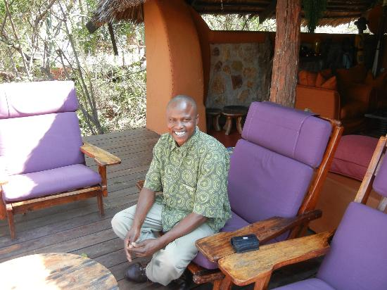 andBeyond Grumeti Serengeti Tented Camp: Raphael, the warm and super friendly butler