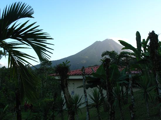 Arenal Volcano Inn: view from walking trail on hotel ground