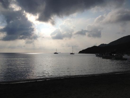 باهيا تاجانجا هوتل: atardecer Bahia Taganga 