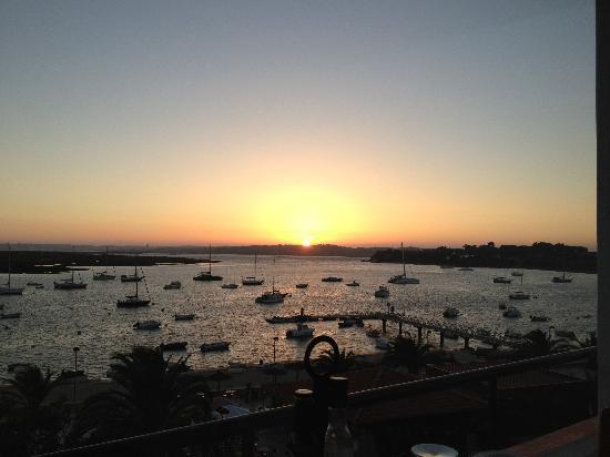 Casa Do Rio Restaurante: View from restaurant at sunset