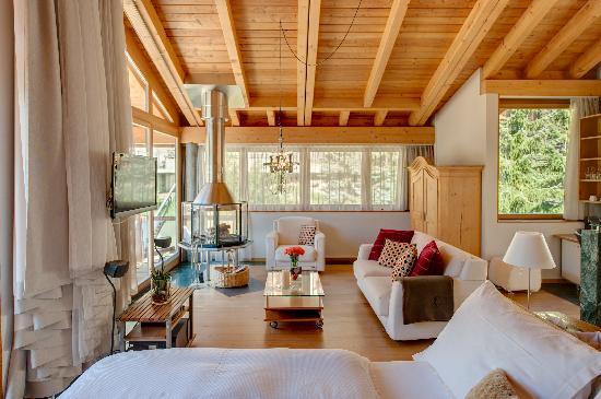 Coeur des Alpes: Dachsuite/ Penthouse Suite