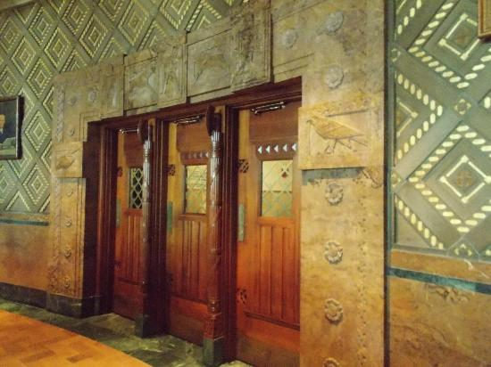 Buffalo City Hall: Doors from Council Chambers