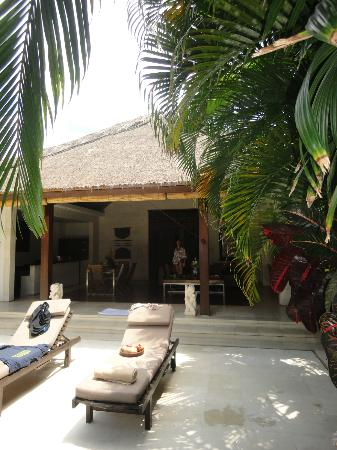 Villa Bali Asri: Villa 6 - From the pool