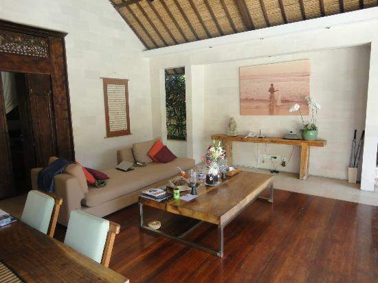Villa Bali Asri: Villa 6 - The living area