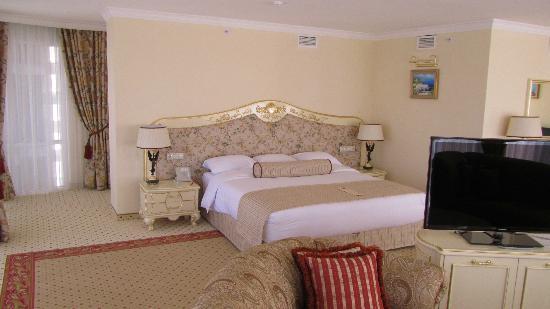 Rimar Hotel: bed