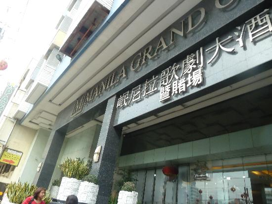 Manila Grand Opera Hotel: Front