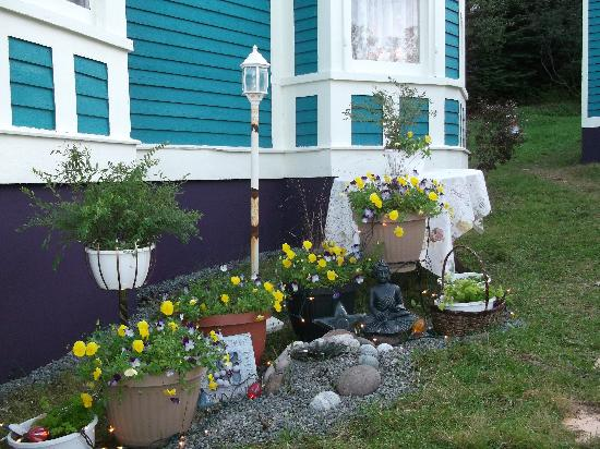 Little Bay Islands, Canada: Mditation garden