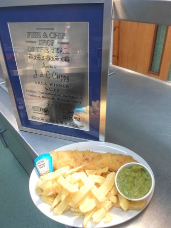 J & C's Chippy Restaurant: Fish & chip shop of the year