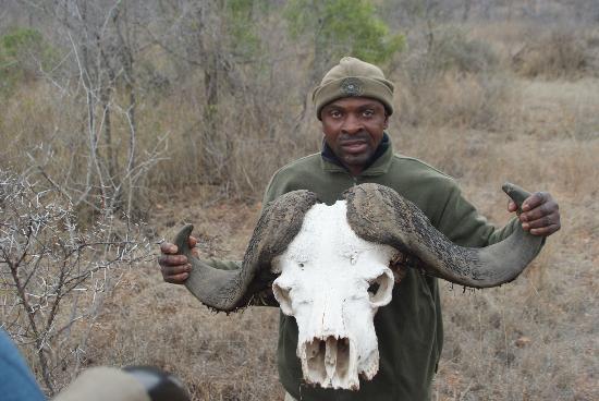 Umlani Bushcamp: Een van de gidsen