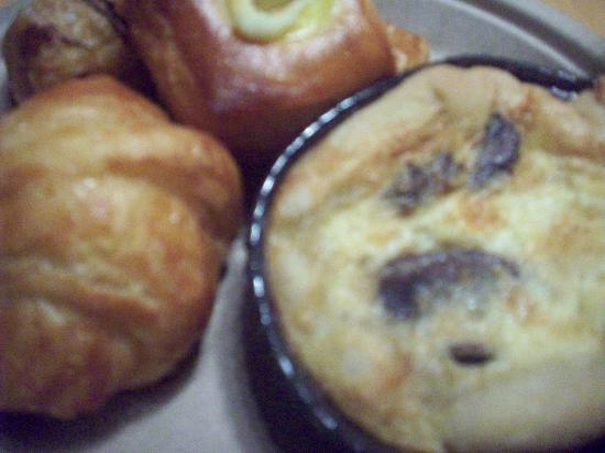 ACME Hotel Company Chicago: mini quiches and crossiants