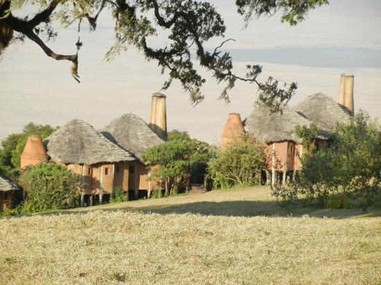 andBeyond Ngorongoro Crater Lodge: the other section of rooms