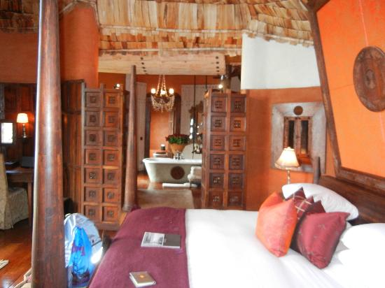 andBeyond Ngorongoro Crater Lodge: the room