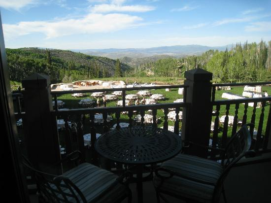 Montage Deer Valley: View from our balcony