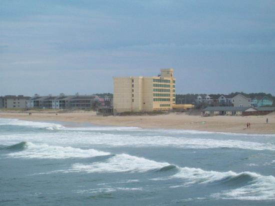 Comfort Inn South Oceanfront: Picture from Jeanett's Pier