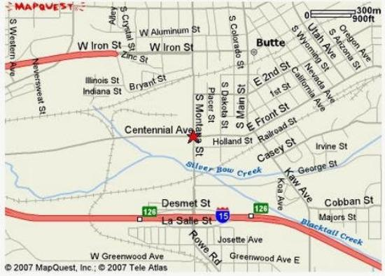 Eddy's Motel : Map