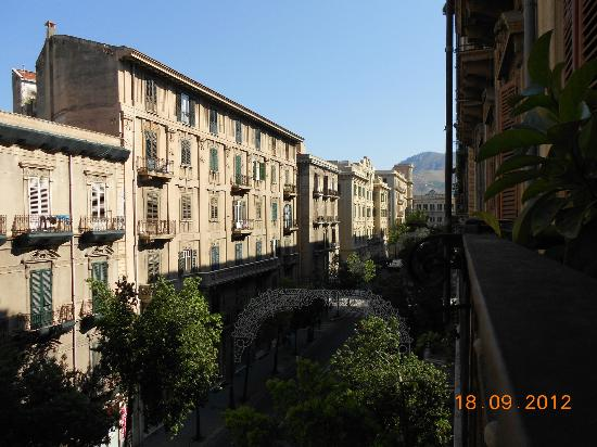 Hotel del Centro: View from the balcony
