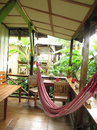 Panama's Paradise Saigoncito : The place to be and spot humming birds
