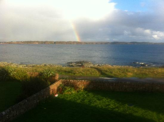 Ardoran House: View from our window at the Ardoran