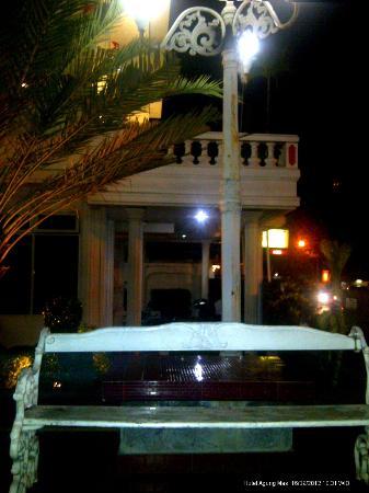 Hotel Agung Mas : Taman Hotel tempat bersantai