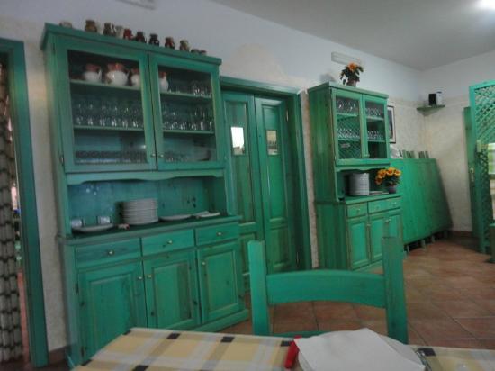 Mobili Della Sala Da Pranzo : Particolare dell arredamento della sala da pranzo foto di