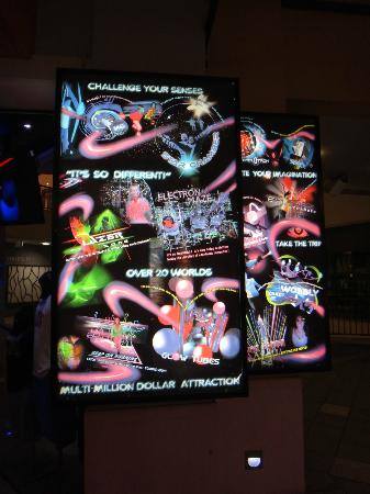 Infinity Attraction: Infinity Signboard Attraction - 1