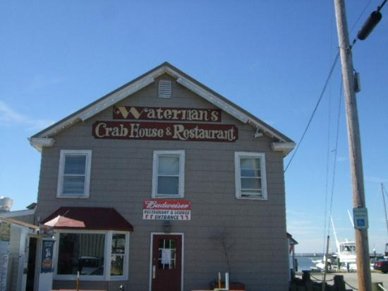 Waterman's Crab House: Side Welcome