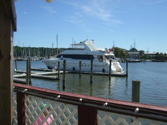 Waterman's Crab House: The View