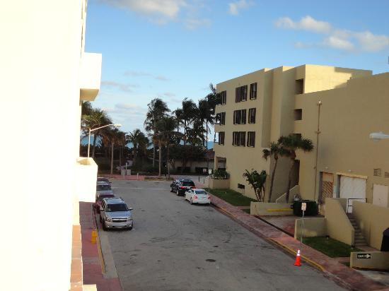 Lorraine Hotel: Vista do apartamento