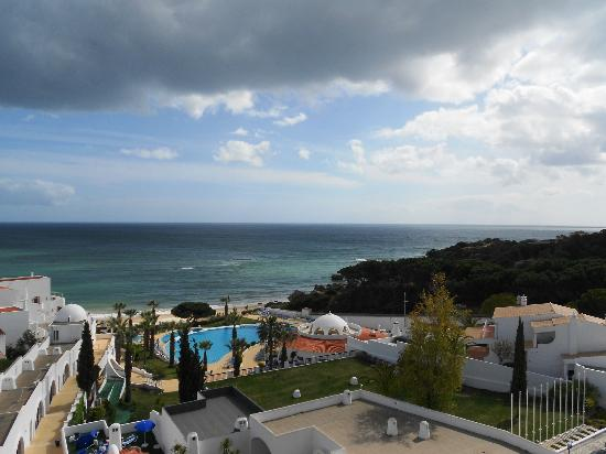 Oura-View Beach Club: The view from the sun deck!