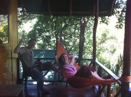 ลันตามารีนปาร์ควิลรีสอร์ท: bungalow terrace