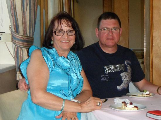 The Norfolk Hotel: John and Nada from Scotland