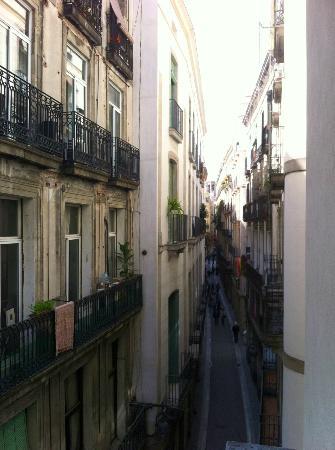Rambla Gothiko: View from the Balcony 