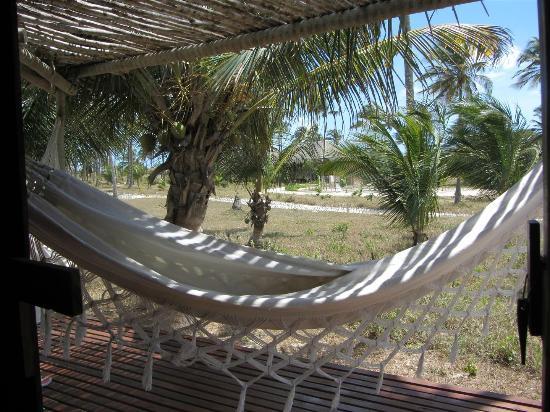 Rancho do Peixe: Bungalow hammock